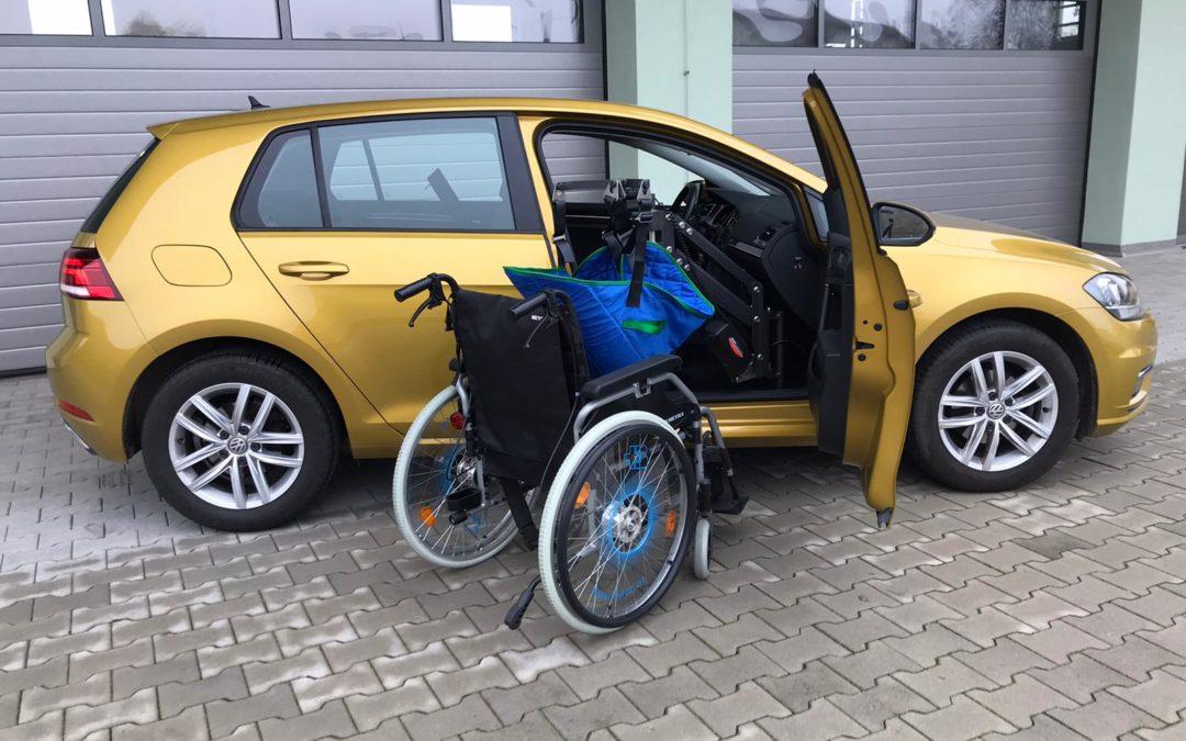 Personenlift Smart Transfer T-MPL für eine Golf 7