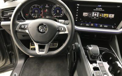 VW Touareg …. Handbediengerät der Luxusklasse – elegant und einfachste Bedienung